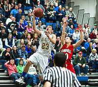 Gilford versus Campbell quarterfinal game NHIAA Division III basketball Saturday, March 2, 2013.  Karen Bobotas/for the Laconia Daily Sun