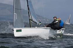 Pelle P Kip Regatta 2017 run by Royal Western Yacht Club at Kip Marina on the Clyde. <br /> <br /> GBR19, Ovington Boats 2, Matty Lyons, Ullswater <br /> <br /> Image Credit Marc Turner