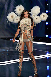 Sara Sampaio on the catwalk for the Victoria's Secret Fashion Show at the Mercedes-Benz Arena in Shanghai, China