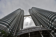 Malaysia, Kuala Lumpur. Petronas Twin Towers, the tallest buildings on Earth from 1998-2004 (still the tallest twin buildings).