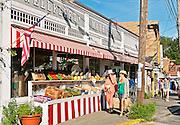 Wellfleet Market, Cape Cod, Massachusetts, USA