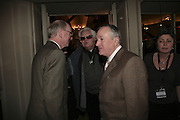 Gilbert and George and Ken Russell, The South Bank Show Awards, Savoy Hotel. London. 23 January 2007.  -DO NOT ARCHIVE-© Copyright Photograph by Dafydd Jones. 248 Clapham Rd. London SW9 0PZ. Tel 0207 820 0771. www.dafjones.com.