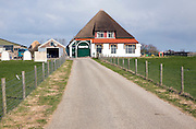 Thatched farmhouse, Texel, Netherlands