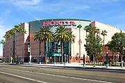 The Honda Center in Anaheim on Douglass Road