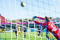Fotball , Eliteserien , 13 Mai 2017 , Kristiansund - Lillestrøm , Sean Mcdermott<br /> <br />  , Foto: Marius Simensen, Digitalsport