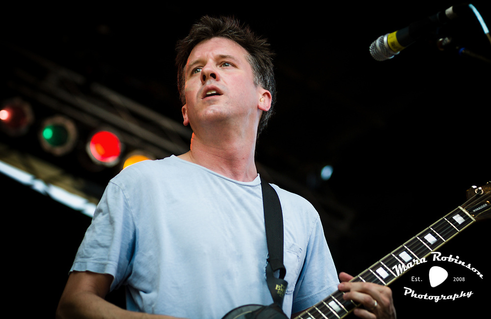 Mac McCaughan, Superchunk, at Pitchfork Music Festival 2011, concert photography by Cleveland music photographer Mara Robinson Photography