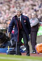 Photo: Olly Greenwood.<br />Arsenal v Reading. The Barclays Premiership. 03/03/2007. Arsenal manager Arsene Wenger