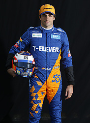 March 14, 2019 - Melbourne, Australia - Motorsports: FIA Formula One World Championship 2019, Grand Prix of Australia, ..#55 Carlos Sainz jr. (ESP, McLaren F1 Team) (Credit Image: © Hoch Zwei via ZUMA Wire)
