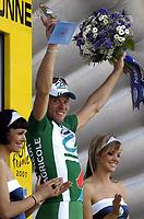 Sykkel<br /> Tour de France<br /> 4. etappe<br /> 11.07.2007<br /> Foto: DPPI/Digitalsport<br /> NORWAY ONLY<br /> <br /> CYCLING - UCI PRO TOUR - TOUR DE FRANCE 2007 - 11/07/2007<br /> <br /> STAGE 4 - VILLERS-COTTERETS>JOIGNY - THOR HUSHOVD (NOR) / CREDIT AGRICOLE / WINNER