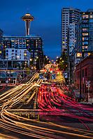 Broad Street Streaming, Belltown, Seattle