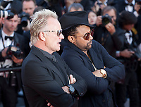 Singer Sting and Shaggy at the Award Ceremony and The Man Who Killed Don Quixote at the The Man Who Killed Don Quixote gala screening at the 71st Cannes Film Festival, Saturday 19th May 2018, Cannes, France. Photo credit: Doreen Kennedy