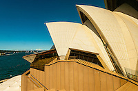 Roof tiles, Sydney Opera House, Bennelong Point, Sydney, New South Wales, Australia