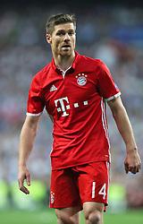 Bayern Munich's Xabi Alonso
