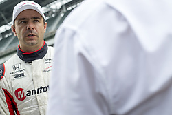 May 18, 2018 - Indianapolis, Indiana, United States of America - ORIOL SERVIA (64) of Spain hangs out on pit road afte a practice run during ''Fast Friday'' for the Indianapolis 500 at the Indianapolis Motor Speedway in Indianapolis, Indiana. (Credit Image: © Chris Owens Asp Inc/ASP via ZUMA Wire)