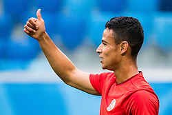June 21, 2018 - Sankt Petersburg, Russia - 180621 Ian Smith of Costa Rica during a practice session during the FIFA World Cup on June 21, 2018 in Sankt Petersburg..Photo: Petter Arvidson / BILDBYRÃ…N / kod PA / 92074 (Credit Image: © Petter Arvidson/Bildbyran via ZUMA Press)
