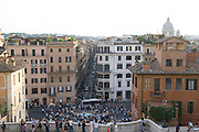Italy, Rome, Piazza di Spagna (the Spanish steps)