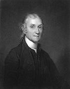 Joseph Priestley (1733-1804)  English Chemist and Non-Conformist minister. One of discoverers of oxygen. From Sheridan Muspratt 'Chemistry', William Mackenzie, London, c1860.