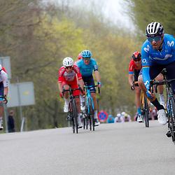 18-04-2021: Wielrennen: Amstel Gold Race men: Berg en Terblijt <br />Alejandro Valverde