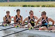 Eton. Great Britain. USA JM4X, FISA Junior  World Rowing Championships. Dorney Lake, Nr Windsor. Friday, 05/08/2011 [Mandatory credit: Intersport Images]