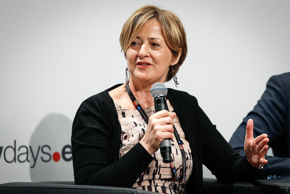 04 June 2015 - Belgium - Brussels - European Development Days - EDD - Education - Right to quality education - Yoka Brandt , Deputy Executive Director of UNICEF © European Union