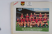 Down-All Ireland Senior Football Champions 1991, back row from left, Eamon Burns, Paul Higgins, Conor Deegan, Neil Collins, Barry Breen, Greg Blaney, front row from left, Ross Carr, James McCartan, Gary Mason, Brendan McKernan, Michael Linden, Paddy O'Rourke, D J Kane, Peter Withnell, John Kelly,