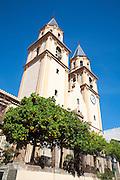 Baroque church of Nuestra Senora de la Expectation, Orgiva, Las Alpujarras, Granada province, Spain