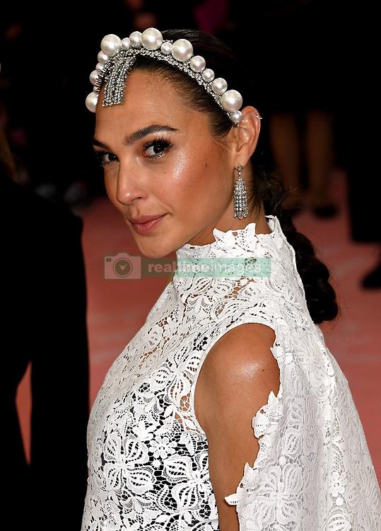 Gal Gadot attending the Metropolitan Museum of Art Costume Institute Benefit Gala 2019 in New York, USA.