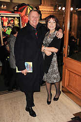 CHRIS TARRANT and JANE BIRD at the gala opening night of Cirque du Soleil's Varekai at the Royal Albert Hall, London on 5th January 2010.