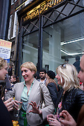 ISABELLA MACPHERSON, Cindy Sherman exhibition. Spruth Magers, London. Grafton st. London. Afterwards at Bellamy's, Bruton Place. 15 April 2009.<br /> ISABELLA MACPHERSON, Cindy Sherman exhibition. Spruth Magers, London. Grafton st. London. Afterwards at Bellamy's, Bruton Place. 15 April 2009.  *** Local Caption *** -DO NOT ARCHIVE-© Copyright Photograph by Dafydd Jones. 248 Clapham Rd. London SW9 0PZ. Tel 0207 820 0771. www.dafjones.com.