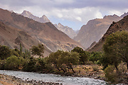 The Pamir Alay Ridge on the borders of Kyrgyzstan and Tajikistan. Timeless scenery for great trekking.