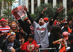 Fans, 2012 World Series Champion Giants