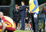Gary Caldwell Manager of Chesterfield during the EFL Trophy match between Chesterfield and Bradford City at the b2net stadium, Chesterfield, England on 29 August 2017. Photo by Paul Thompson.