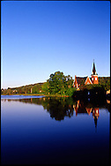 Knowlton's Mill Pond reflects the scenic bliss of Quebec's Eastern Townships.
