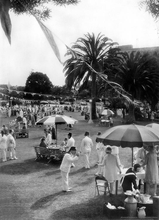 Shriner's Picnic, Lafayette Park, Los Angeles, California, 1926
