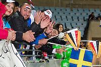 Malmö  2012-10-11  Fotboll  Landskamp  Brazil    - Iraq   :  .(Foto: Christer Thorell, Pic-Agency.com) Nyckelord : fans fan supporter supportrar klack publik crowd.