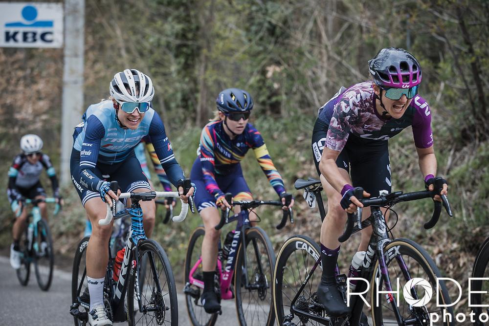 Valerie Demey (BEL/Liv Racing)<br /> <br /> Women's Elite Brabantse Pijl 2021 <br /> 1 Day Race: Lennik - Overijse 127km<br /> <br /> ©Rhode.Photo