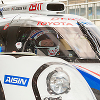 #1 Toyota TS040 Hybrid, Toyota Racing, here with driver Antony Davidson, LMP1, FIAWEC 6 Hours of Silverstone 2015