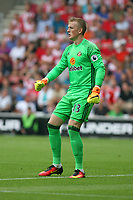 Football - 2016 / 2017 Premier League - Southampton vs. Sunderland<br /> <br /> Jordan Pickford of Sunderland at St Mary's Stadium Southampton <br /> <br /> Colorsport/Shaun Boggust