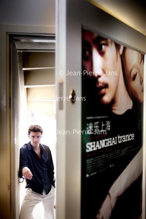 Nederland, Amsterdam , 12 juni 2010..Filmregisseur David Verbeek van o.a. de film Shanghai Trance..Foto:Jean-Pierre Jans