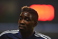 Sammy Ameobi of Cardiff city looks on.Skybet football league championship match, Cardiff city v Middlesbrough at the Cardiff city Stadium in Cardiff, South Wales  on Tuesday 20th October 2015.<br /> pic by  Andrew Orchard, Andrew Orchard sports photography.