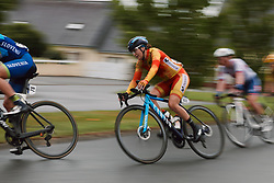 Alicia Gonzalez (ESP) at the 2020 UEC Road European Championships - Elite Women Road Race, a 109.2 km road race in Plouay, France on August 27, 2020. Photo by Sean Robinson/velofocus.com