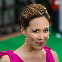 SHEFFIELD, UNITED KINGDOM - 9th June 2007: singer Myleene Klass at International Indian Film Academy Awards (IIFAs) at the Sheffield Hallam Arena on June 9, 2007 in Sheffield, England.