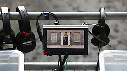 Video cameras are trained on the door of 10 Downing Street, London, as Theresa May's future as Prime Minister and leader of the Conservatives was being openly questioned after her decision to hold a snap election disastrously backfired.