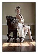 Model Michelle Pamela, shot at Tipping Wood, Dundalk. Photography:Arthur Carron