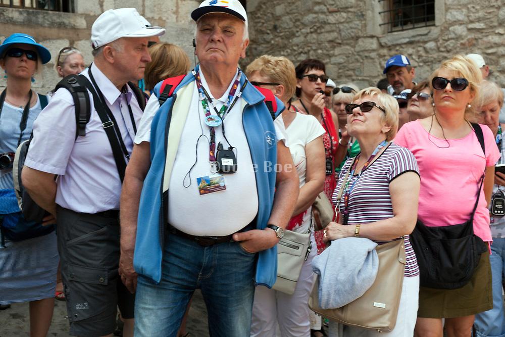 mass tourism group in Girona Spain