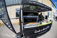 One Pizza Planet during the EFL Sky Bet League 2 match between Forest Green Rovers and Exeter City at the New Lawn, Forest Green, United Kingdom on 4 May 2019.
