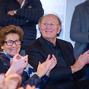 NLD/Amsterdam/20190207 - Boekpresentatie Maarten van Nispen, Joop van den Ende en partner Janine Klijburg