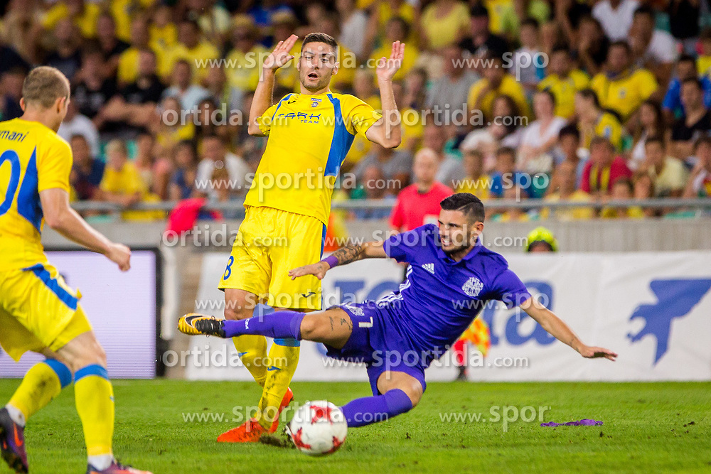Matija Sirok of NK Domzale during football match between NK Domzale and Olympique de Marseille in First game of UEFA Europa League playoff round, on August 17, 2017 in SRC Stozice, Ljubljana, Slovenia. Photo by Ziga Zupan / Sportida