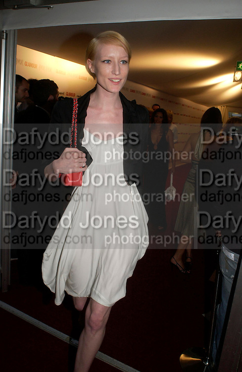 Jade Parfait . Glamour Women Of The Year Awards 2005, Berkeley Square, London.  June 7 2005. ONE TIME USE ONLY - DO NOT ARCHIVE  © Copyright Photograph by Dafydd Jones 66 Stockwell Park Rd. London SW9 0DA Tel 020 7733 0108 www.dafjones.com