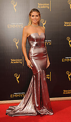 Heidi Klum arriving to the Creative Arts Emmy Awards held at the Microsoft Theatre L.A. Live in Los Angeles, CA, USA, September 11, 2016. Photo by Apega/ABACAPRESS.COM
